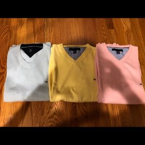 Tommy Hilfiger Sweaters- blue, yellow, pink